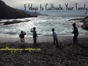 5 ways to cultivate your family