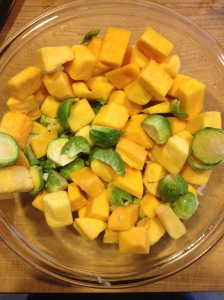 Butternut Squash & Brussels Sprouts