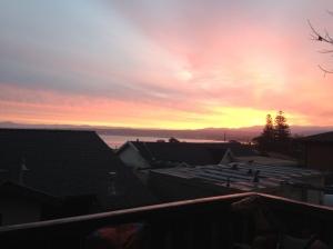 Watch a sunrise or sunset