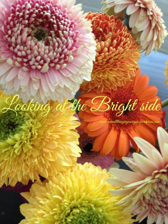Looking at the bright side graphic