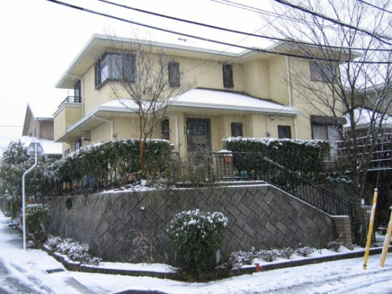 One of my childhood homes in Japan
