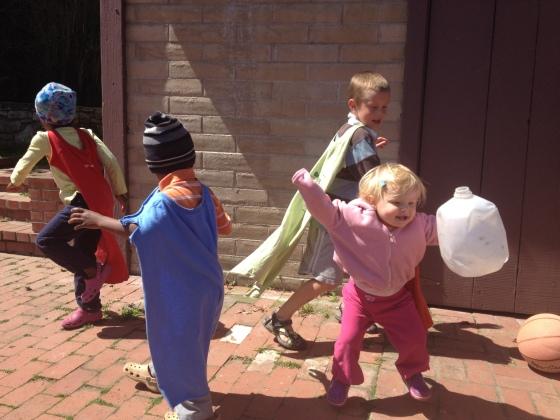 Dancing capes