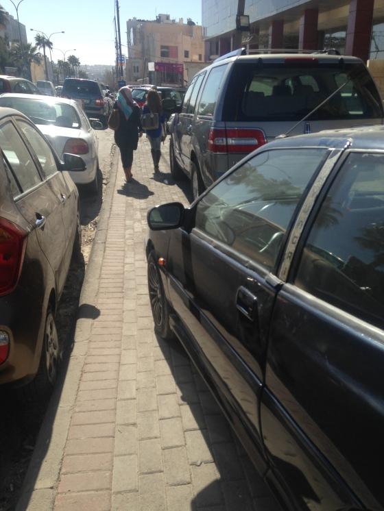 Sidewalk Parking