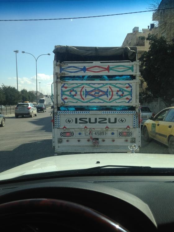 Beauty in the junk truck